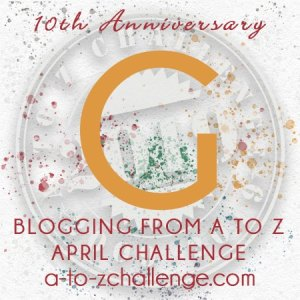 10th Anniversary Blogging From A to Z April Challenge
